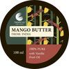 Масло манго India, взбитое с маляным экстрактом ванили