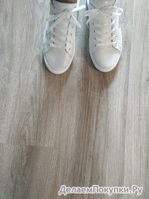 """Красивые белые """"туфельки"""""""