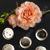 Заготовка для брошек с гнездом 2,5 см (50 шт) SF-1246, серебро Артикул: 301-534