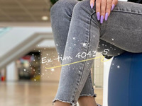 Женские тапочки 4043-5 серые