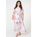 Платье Amelia Lux 0988 розовый
