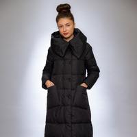 Женская куртка зимняя 023 черный