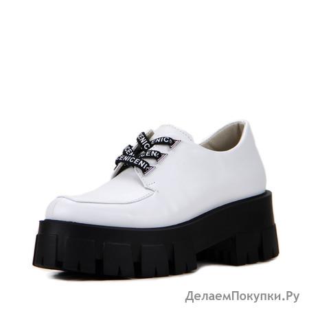Туфли женские кожаные ED'ART 202.90200'bl. white