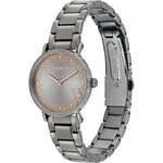 Coach Women's Perry Stainless Steel Grey (Glitter Embellished) Dial Watch