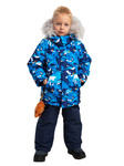 """444-22з-2 Куртка (комплект) для мальчика """"Джек"""" мультиколор"""