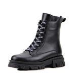 Ботинки женские кожаные ED'ART 346.astra32'bl.black