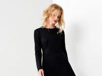 Платье Панда  артикул 52080z черный