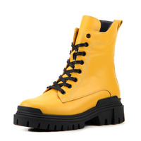 Ботинки женские кожаные ED'ART 346.astra20'bl.yellow