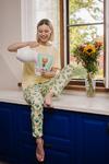 Женская пижама ЖП 024 (Светло-желтый _ кактусы) р.42