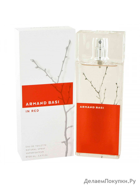 ARMAND BASI IN RED lady 100ml edt