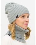 Комплект женский весенний шапка+снуд Ники
