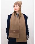 Комплект женский весенний шапка+шарф Ариана