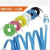 Кабель USB - micro USB 1 метр, цвета в ассортименте 904279