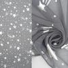Имитация льна термопечать Мелита Артикул: 33/1852TG-2 серый  Ширина рулона: 280